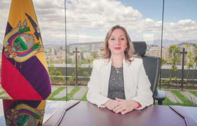 Rosi Prado, Ministra de Turismo de Ecuador.