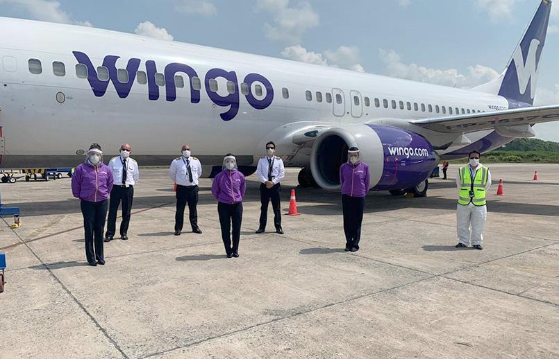 Nuevos uniformes de Wingo.