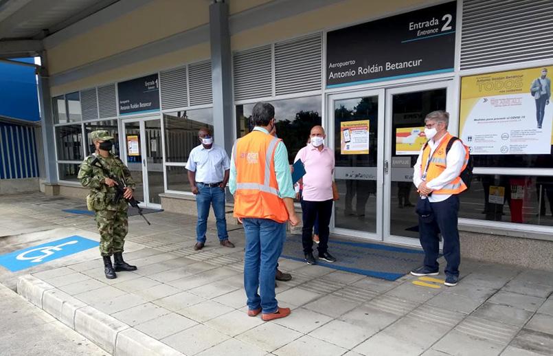 Aeropuerto Antonio Roldán Betancur de Carepa, Antioquia.