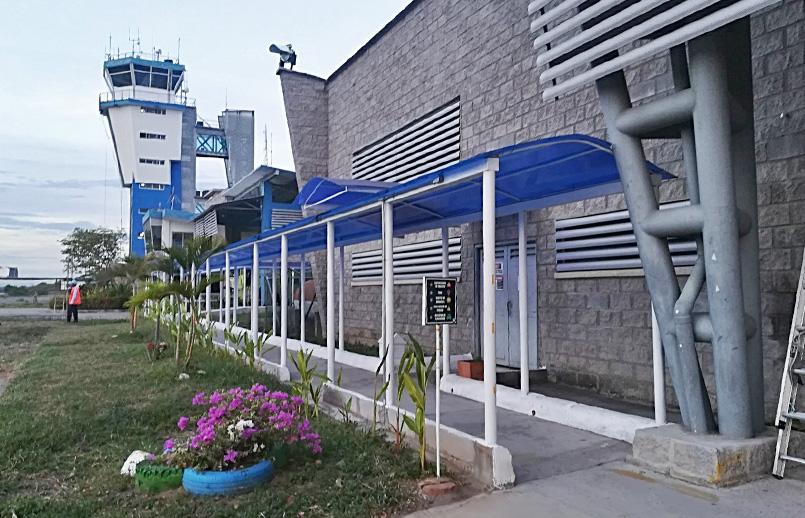 Aeropuerto Benito Salas de la ciudad de Neiva, Huila.