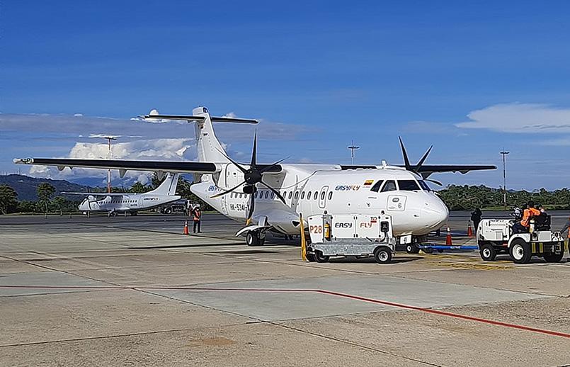 ATR 42-500 de EasyFly en Bucaramanga.