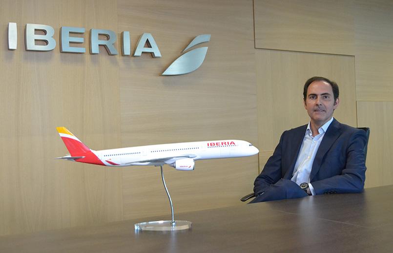 Javier Sánchez-Prieto, nuevo CEO de Iberia.