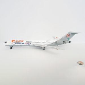 Modelo Aces Boeing 727-200 de Alianza Summa en escala 1:200.