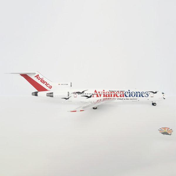 Modelo Avianca Boeing 727-200 de Aviancaciones.
