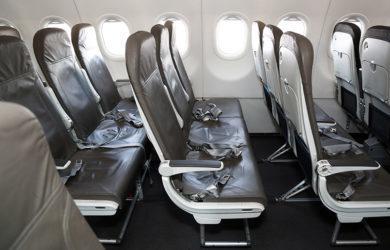 Silletería de un Airbus A320neo de JetSmart.