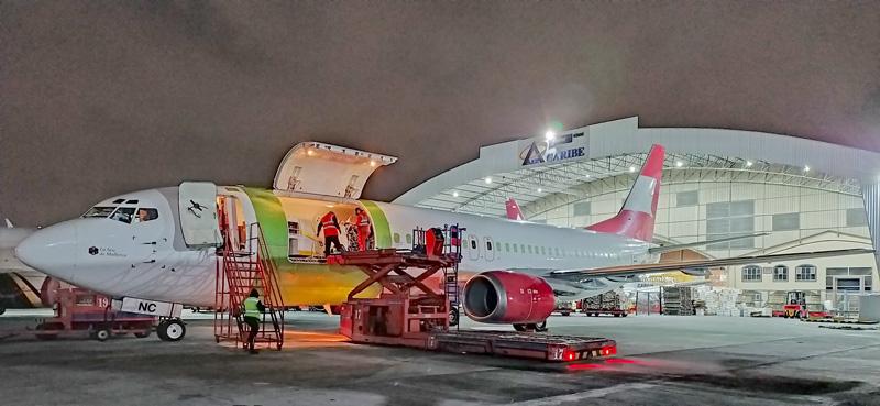 Cuarto Boeing 737-400F de AerCaribe Cargo.