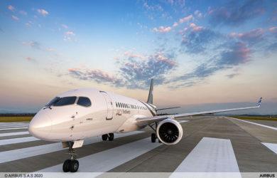 Airbus ACJ220.