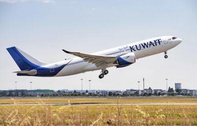 Airbus A330-800 de Kuwait Airways.