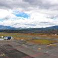 Vista del Aeropuerto Antonio Nariño de la ciudad de Pasto.