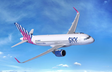 Airbus A320neo de SKY Express.