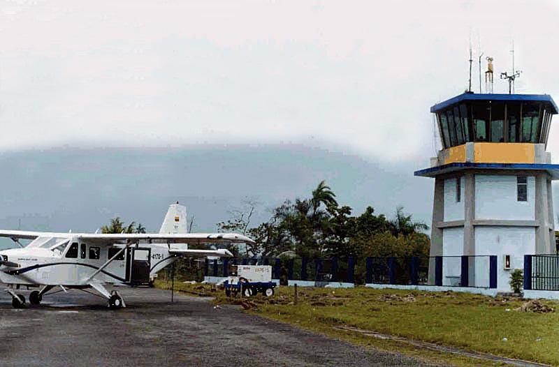 Aeropuerto El Caraño de Quibdó, Chocó.