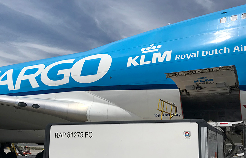 Boeing 747F del Grupo Air France-KLM.