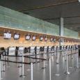 Área de registro (check-in), del aeropuerto internacional Eldorado de Bogotá.