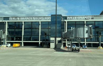 Nuevo Aeropuerto Internacional de Berlín-Brandemburgo (BER).