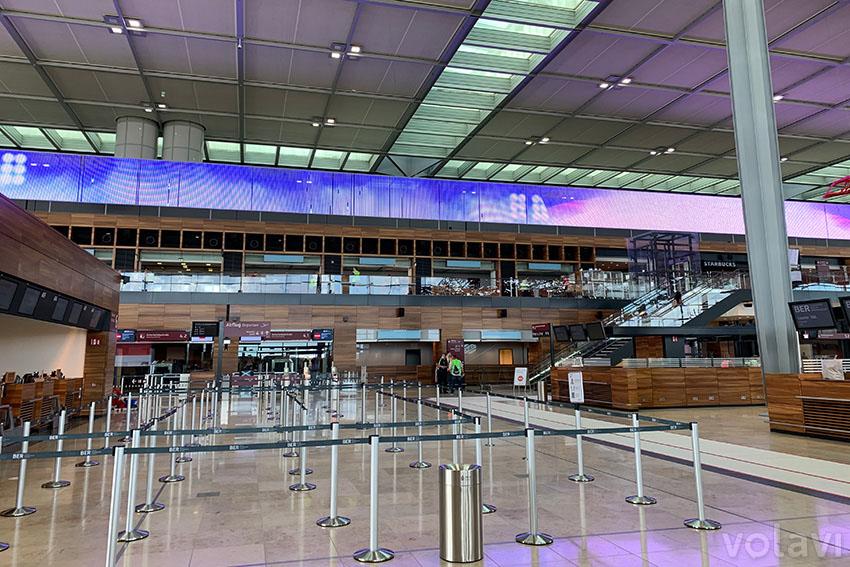 Nuevo Aeropuerto Internacional de Berlín.
