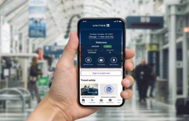 Nueva Aplicación (App) de United Airlines.