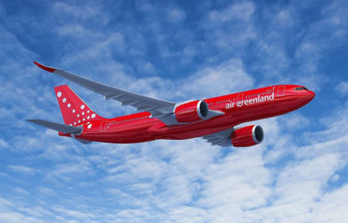 Prototipo de un Airbus A330neo de Air Greenland.