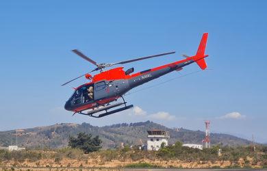 Airbus Helicopters H125 de la Armada de Chile.