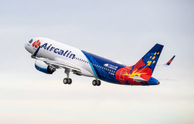 Primer Airbus A320neo para Aircalin.