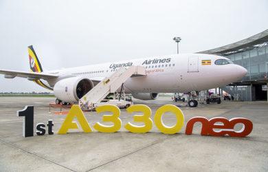 Primer Airbus A330neo de Uganda Airlines.