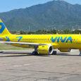 Airbus A320neo de Viva Air en el aeropuerto Simón Bolívar de Santa Marta.