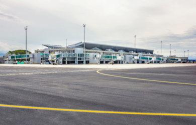 Aeropuerto Alfonso Bonilla Aragón de Cali, Colombia.