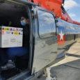 Transporte de vacunas para Covid-19 en un Airbus Helicopters de la Armada de Chile.