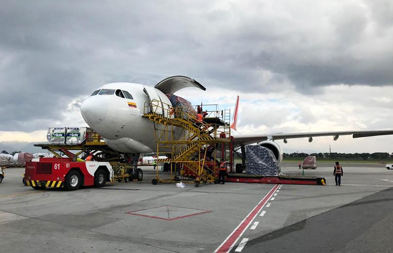 Airbus A330F de Avianca Cargo.