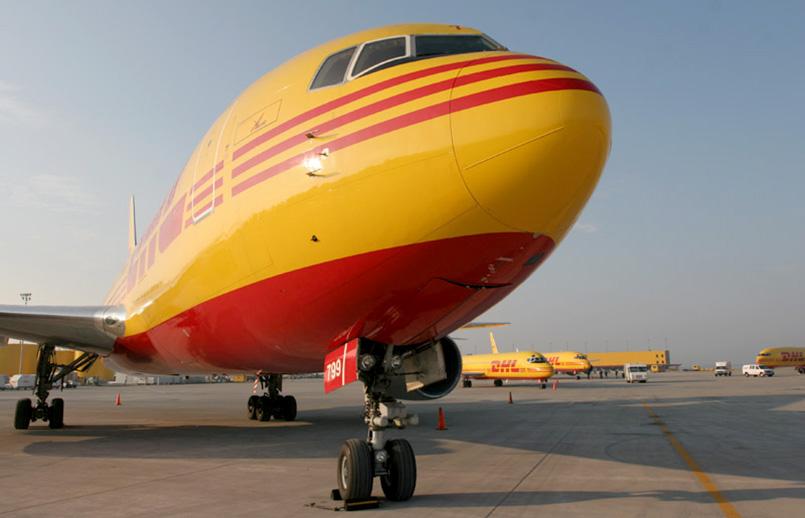 Boeing 767-300F de DHL.