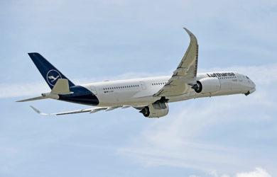 Airbus A350 de Lufthansa.
