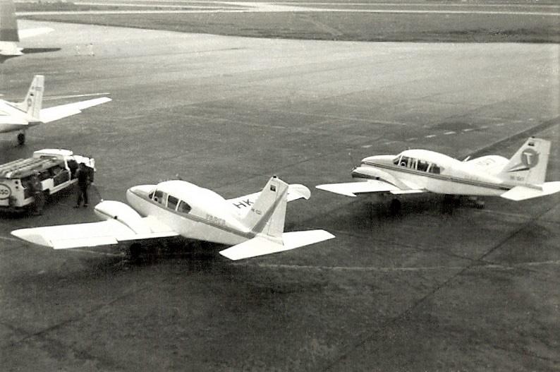 HK-1021 y HK-1377 de TARCA en Eldorado (1969)..