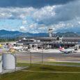 Vista del Aeropuerto Internacional José María Córdova de Rionegro.