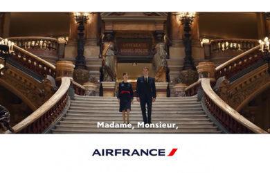 Nuevo video de seguridad de Air France.