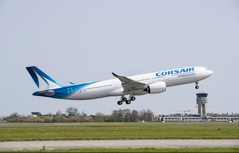 Primer Airbus A330neo de Corsair.