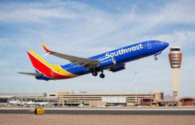 Boeing 737 MAX 8 de Southwest.