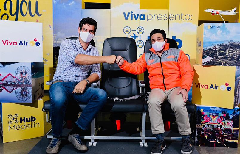 Alianza entre Viva Air y Rappi.