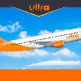 Render de un Airbus A320 de Ultra Air.
