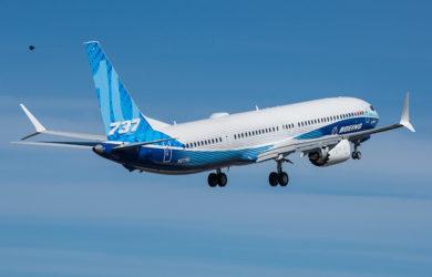 Primer vuelo del Boeing 737 MAX 10.