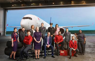 Personal de Delta Air Lines.