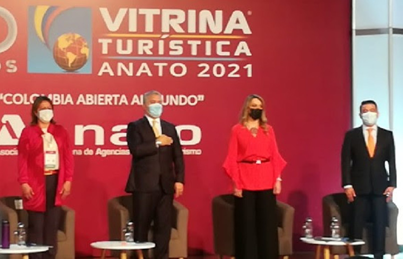 Vitrina Turística de ANATO 2021.