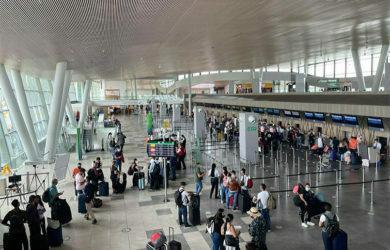 Terminal del aeropuerto Matecaña de Pereira.