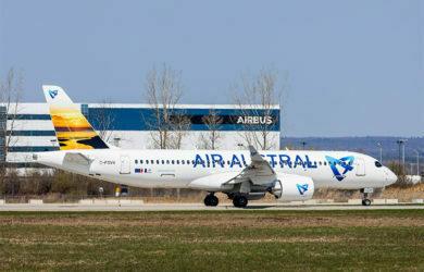 Primer Airbus A220-300 para Air Austral.