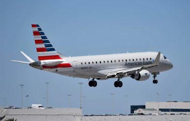 Embraer 175 de American Airlines en Miami.