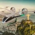 Eve y Flapper se unen para Movilidad Urbana Aérea en América Latina.