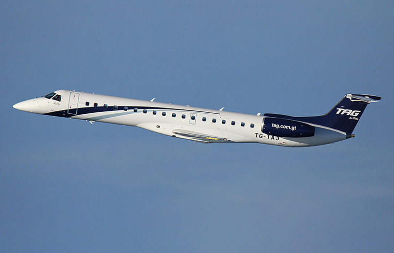 Embraer 145 de TAG Airlines.