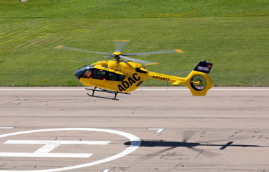 Primer Airbus Helicopters H145 de ADAC.