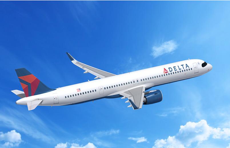 Airbus A321neo de Delta Air Lines.
