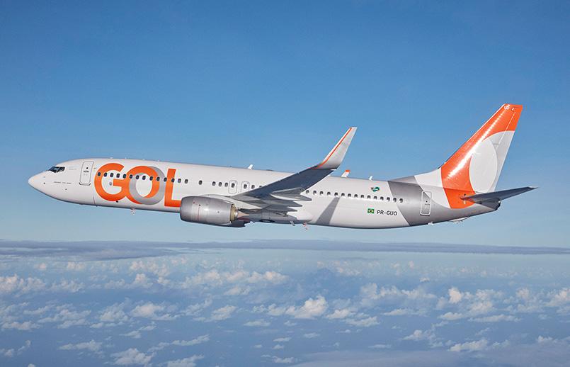 Boeing 737-800 de GOL.