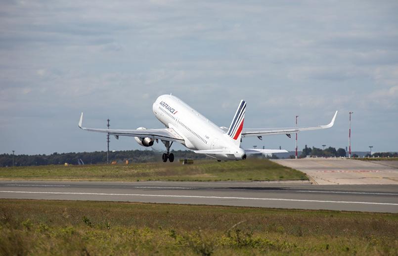Vuelo de prueba de Airbus y Air France.