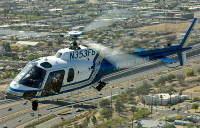 Airbus Helicopters H125 de la Policía de Phoenix.